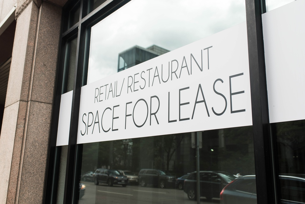 retail or restaurant space for lease